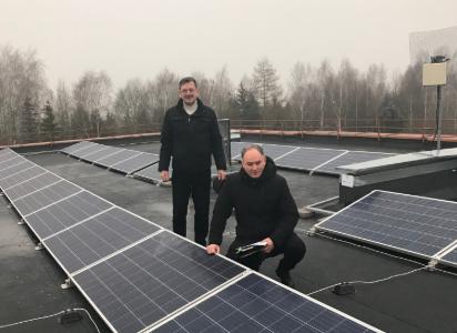 Ant šešių pastatų rajone įrengtos saulės elektrinės leis sutaupyti